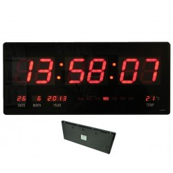 Reloj digital de pared con...