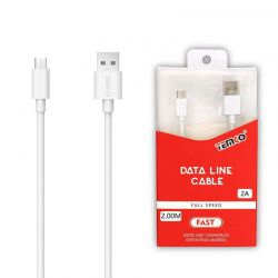CABLE 2A 2M MICRO USB 5P...